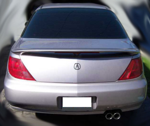 Acura CL Spoiler With Spoiler Light