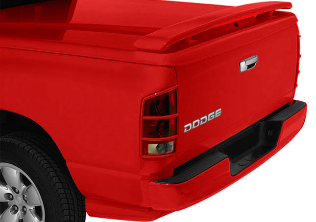 Truck Tonneau Cover Spoiler With Spoilerlight