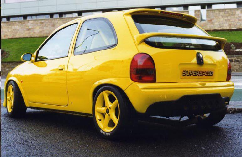 Opel Corsa Spoiler Light Type Sl 3140rd