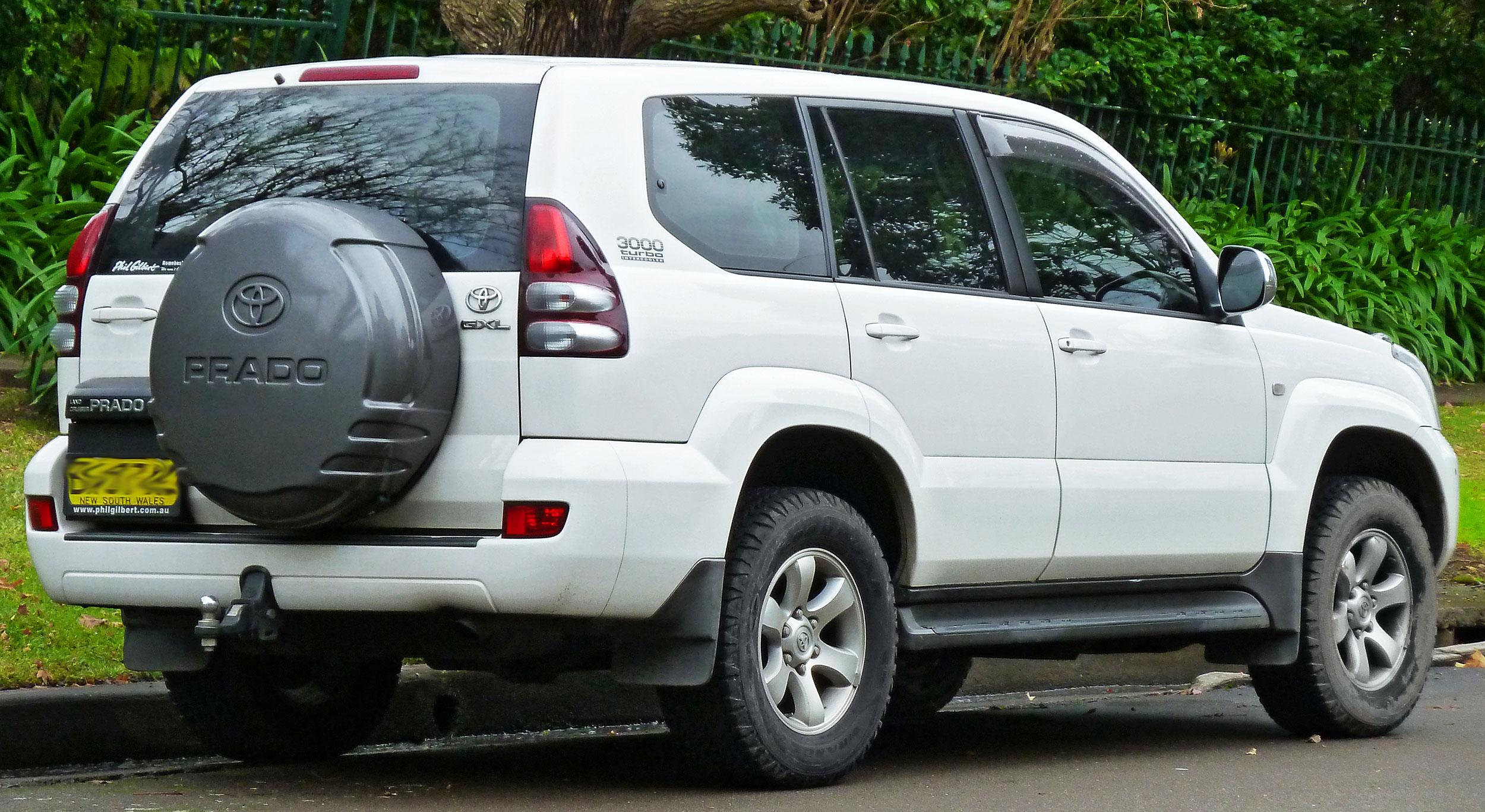 SL-036034PRADO ® Toyota Prado Third Brake LightType